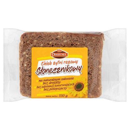 Obrazek Oskroba Chleb żytni razowy słonecznikowy 330 g