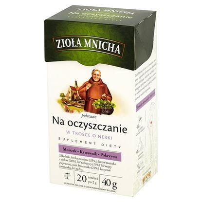 Obrazek Big-Active Zioła Mnicha Na oczyszczanie Suplement diety Herbatka ziołowa 40 g (20 torebek)