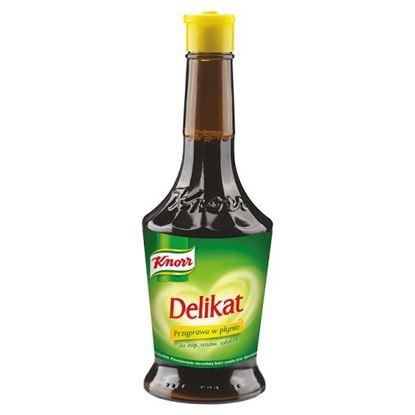 Obrazek Knorr Delikat Przyprawa w płynie do zup sosów sałatek 174 ml