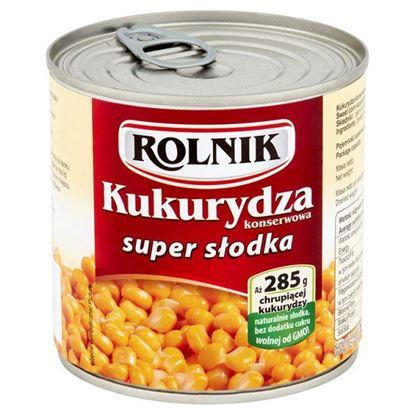 Obrazek Rolnik Kukurydza konserwowa super słodka 340 g