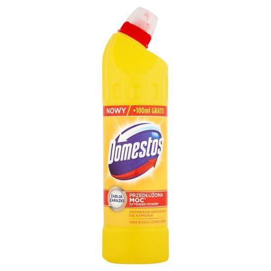 Obrazek Domestos Przedłużona Moc Citrus Fresh Płyn czyszcząco-dezynfekujący 750 ml