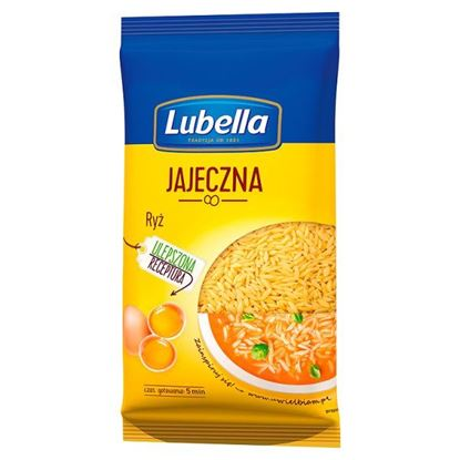 Obrazek Lubella Jajeczna Makaron Ryż 250 g