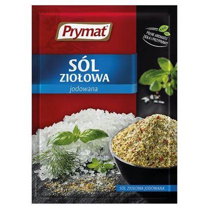 Obrazek Prymat Sól ziołowa jodowana 30 g