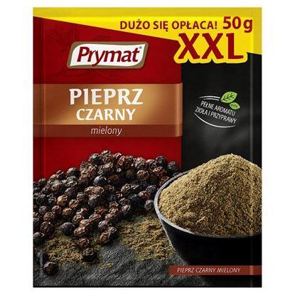 Obrazek Prymat Pieprz czarny mielony XXL 50 g