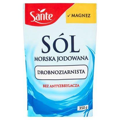 Obrazek Sante Sól morska jodowana drobnoziarnista 350 g