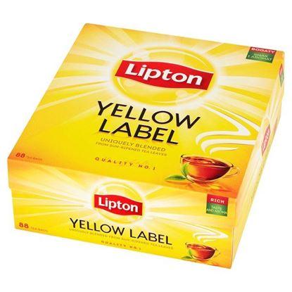 Obrazek Lipton Yellow Label Herbata czarna 176 g (88 torebek)
