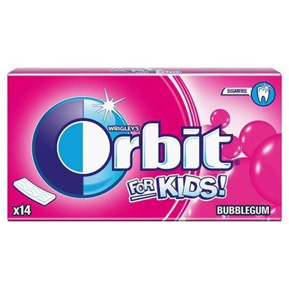 Obrazek Orbit For Kids Classic Guma do żucia bez cukru 27 g (14 pasków)