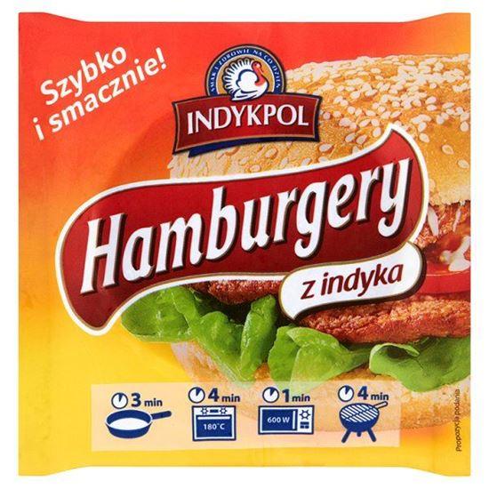 Obrazek Indykpol Hamburger z indyka 210 g