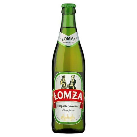 Obrazek Łomża Niepasteryzowane Piwo jasne 500 ml