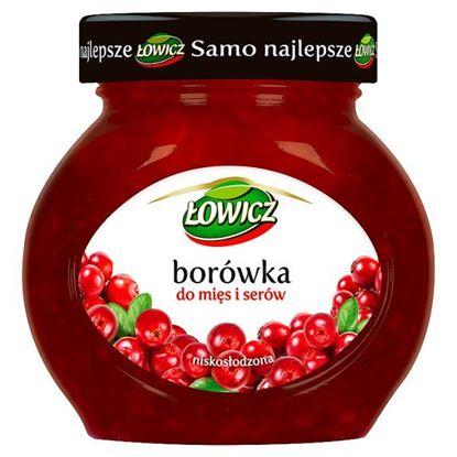 Obrazek Łowicz Borówka do mięs i serów 230 g