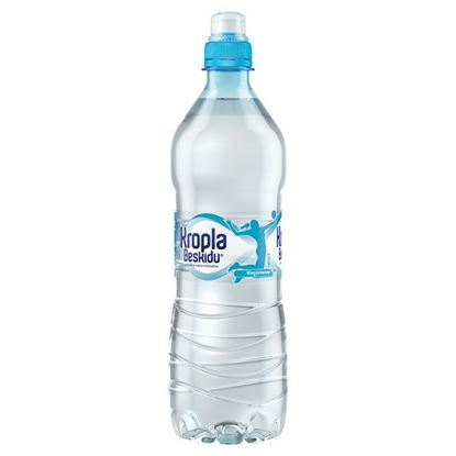 Obrazek Kropla Beskidu Naturalna woda mineralna niegazowana 750 ml