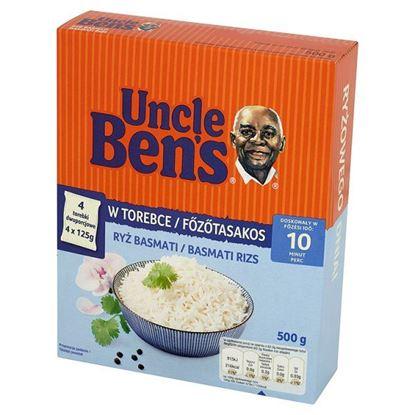 Obrazek Uncle Ben's Ryż basmati 500 g (4 torebki)