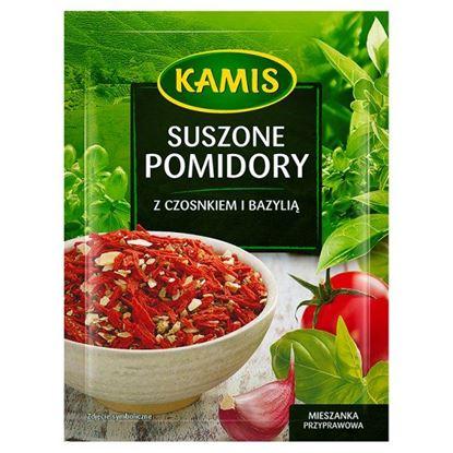 Obrazek Kamis Suszone pomidory z czosnkiem i bazylią Mieszanka przyprawowa 15 g