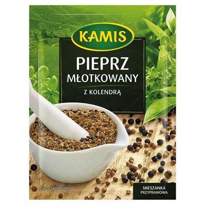 Obrazek Kamis Pieprz młotkowany z kolendrą Mieszanka przyprawowa 15 g