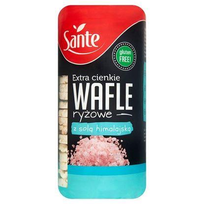 Obrazek Sante Extra cienkie wafle ryżowe z solą himalajską 110 g