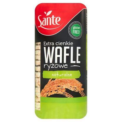 Obrazek Sante Extra cienkie wafle ryżowe naturalne 110 g