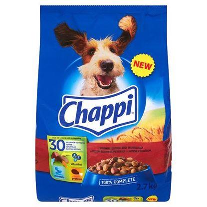 Obrazek Chappi z wołowiną i drobiem Karma pełnoporcjowa 2,7 kg