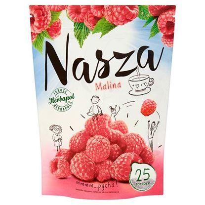 Obrazek Herbapol Nasza Malina Herbatka owocowo-ziołowa 47,5 g (25 torebek)