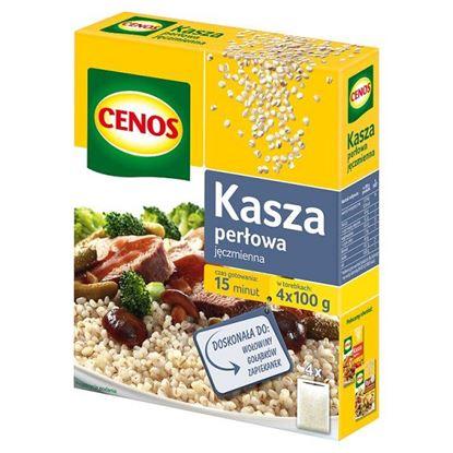 Obrazek Cenos Kasza jęczmienna perłowa 400 g (4 torebki)