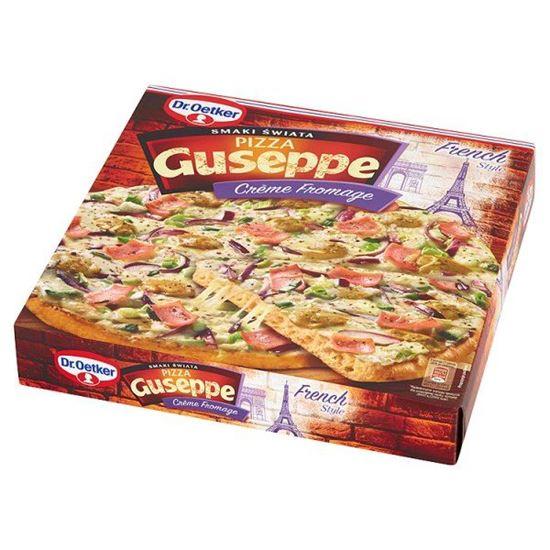 Obrazek Dr. Oetker Guseppe Smaki Świata Pizza z sosem śmietanowym i serami 405 g