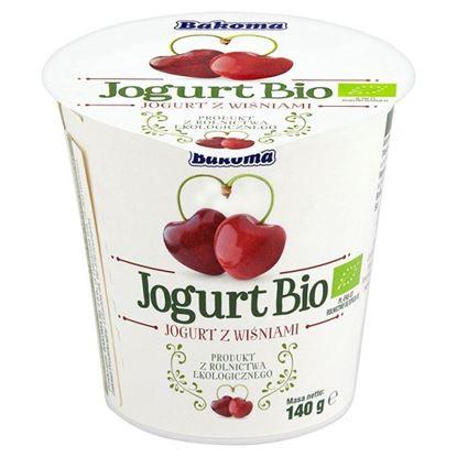Obrazek Bakoma Jogurt Bio z wiśniami 140 g