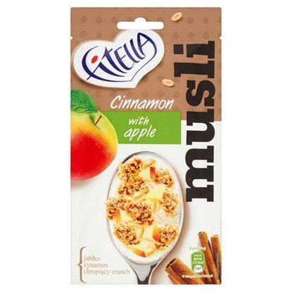 Obrazek Fitella Musli chrupkie cynamonowe z kawałkami jabłka 50 g