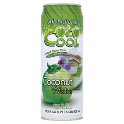 Obrazek Coco Cool Woda z wnętrza kokosa 520 ml