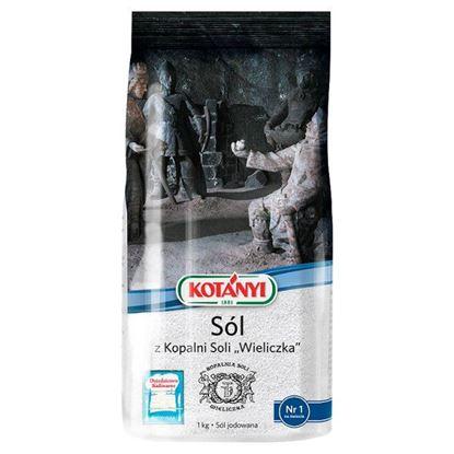 Obrazek Kotányi Sól z Kopalni Soli Wieliczka 1 kg