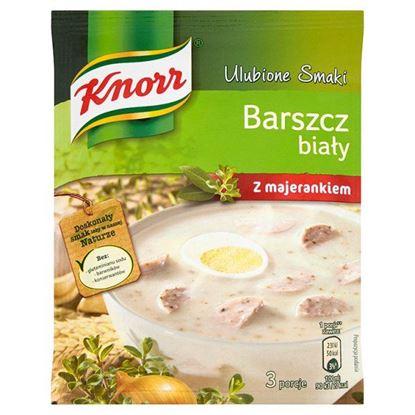 Obrazek Knorr Ulubione Smaki Barszcz biały z majerankiem 47 g