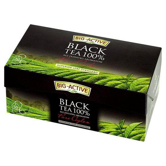 Obrazek Big-Active Pure Ceylon Herbata czarna 100% 100 g (50 torebek)