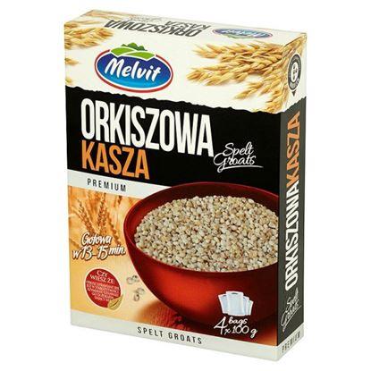 Obrazek Melvit Premium Kasza orkiszowa 400 g (4 torebki)