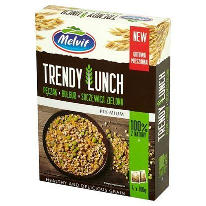 Obrazek Melvit Premium Trendy Lunch pęczak bulgur soczewica zielona 400 g (4 torebki)