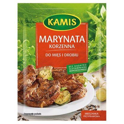 Obrazek Kamis Marynata korzenna do mięs i drobiu Mieszanka przyprawowa 20 g
