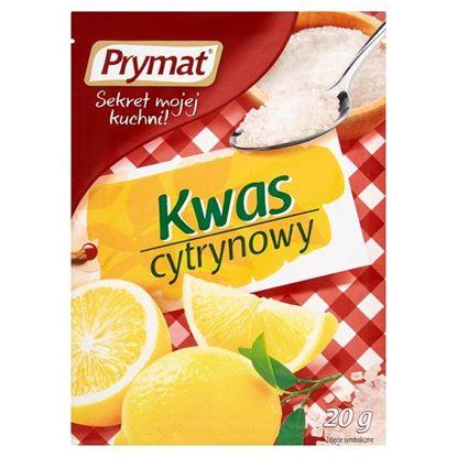 Obrazek Prymat Kwas cytrynowy 20 g