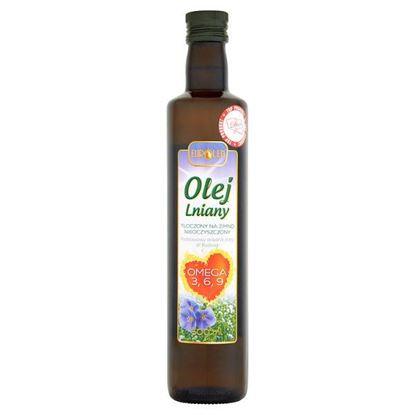 Obrazek Eurolen Olej lniany 500 ml