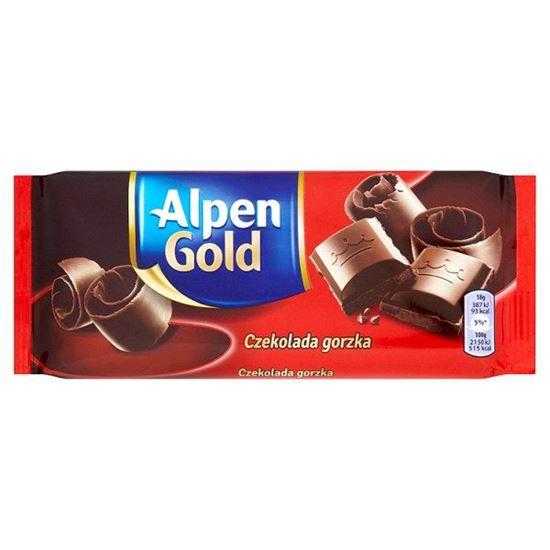 Obrazek Alpen Gold Czekolada gorzka 90 g