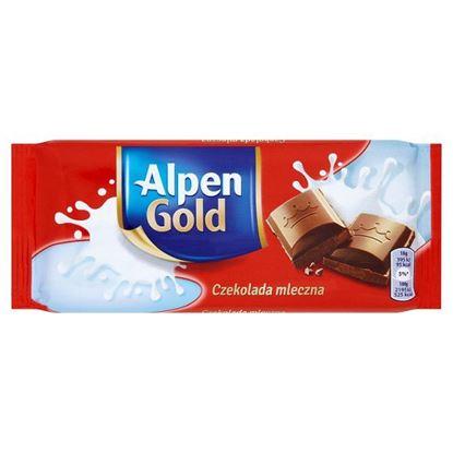 Obrazek Alpen Gold Czekolada mleczna 90 g
