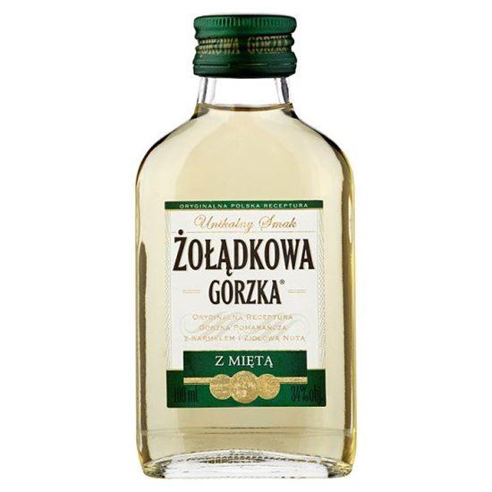 071db177f643e0 Żołądkowa Gorzka z miętą Likier 100 ml. Sklep spożywczy z dostawą do ...