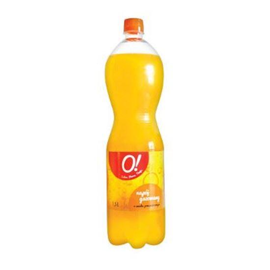 Obrazek O! Napój gazowany o smaku pomarańczowym 1,5l