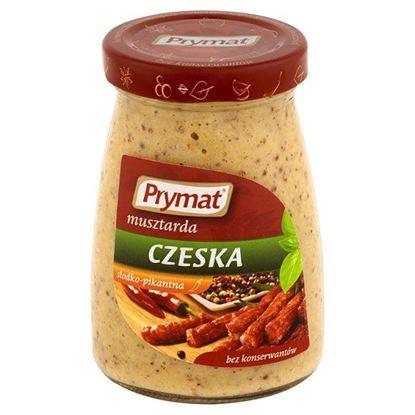 Obrazek Prymat Musztarda czeska słodko-pikantna 180 g