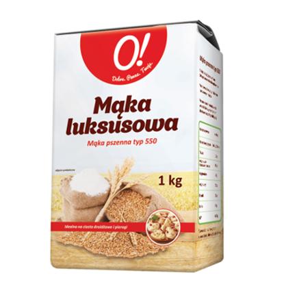 Obrazek O! Mąka luksusowa pszenna typ 550 1 kg