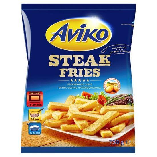 Obrazek Aviko Steak Fries Ekstra grube frytki do piekarnika 750 g