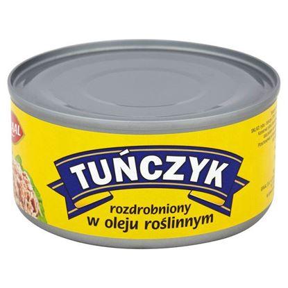 Obrazek GRAAL Tuńczyk rozdrobniony w oleju roślinnym 185 g