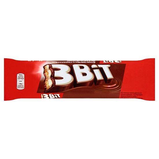 Obrazek 3Bit Baton w czekoladzie mlecznej z nadzieniem mlecznym i herbatnikiem 46 g
