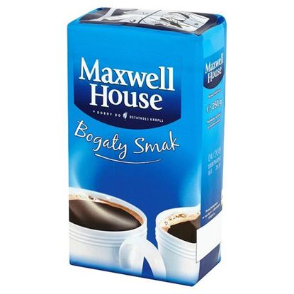 Obrazek Maxwell House Bogaty Smak Kawa mielona 250 g