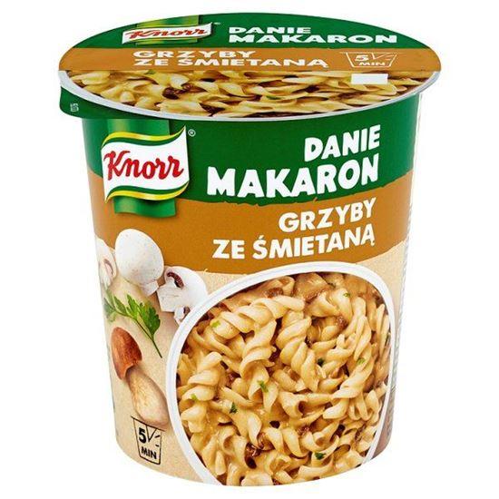 Obrazek Knorr Danie Makaron Grzyby ze śmietaną 70 g