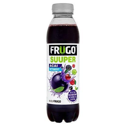 Obrazek Frugo Suuper Acai + witaminy Napój wieloowocowy niegazowany 500 ml