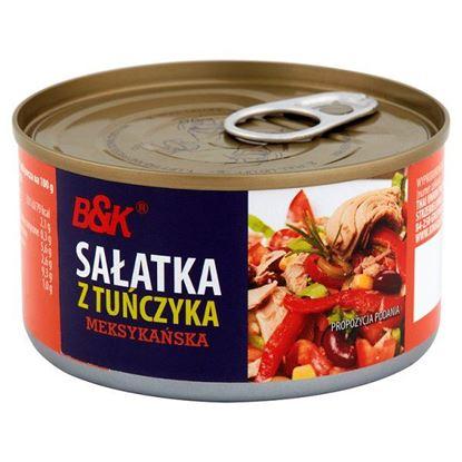 Obrazek B&K Sałatka z tuńczyka meksykańska 185 g