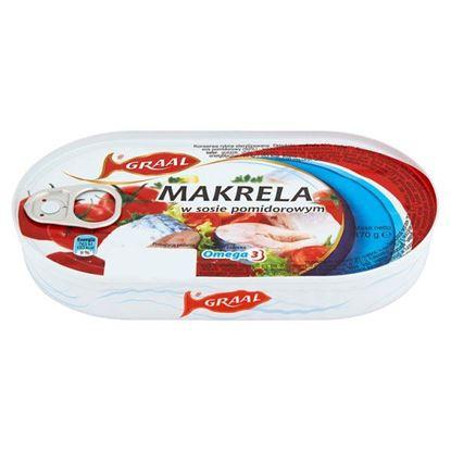 Obrazek GRAAL Makrela w sosie pomidorowym 170 g