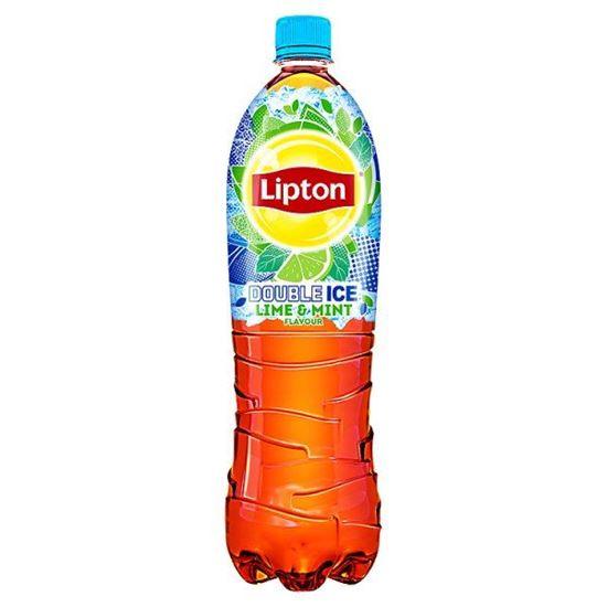 Obrazek Lipton Ice Tea Double Ice Lime & Mint Napój niegazowany 1,5 l